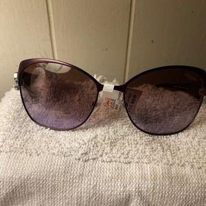 Vogue Purple Cat-Eye Butterfly Sunglasses NWT VO38